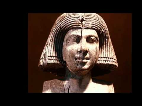 Caucasoid Old Kingdom statues Ancient Egypt