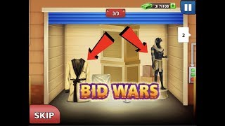 Nice lot + Level 73! Bid Wars original #131 Daily & Diamond Auctions