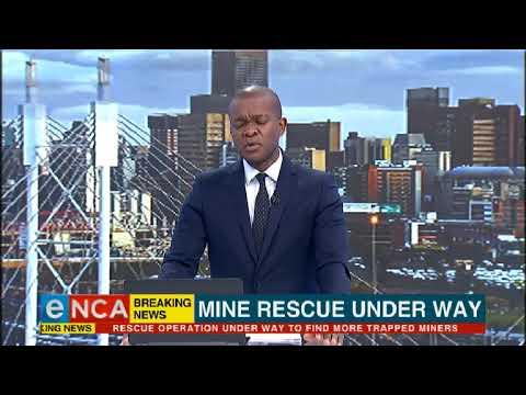 Update: Mine rescue underway