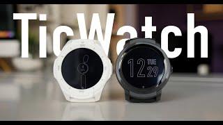 Обзор TicWatch S2 E2. Доступные WearOS часы