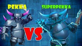 Clash of Clans (privat server).Epic) 35 Pekka vs 35Super Pekka