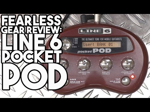Fearless Gear Review  Line 6 Pocket Pod | Spectre Sound Studios