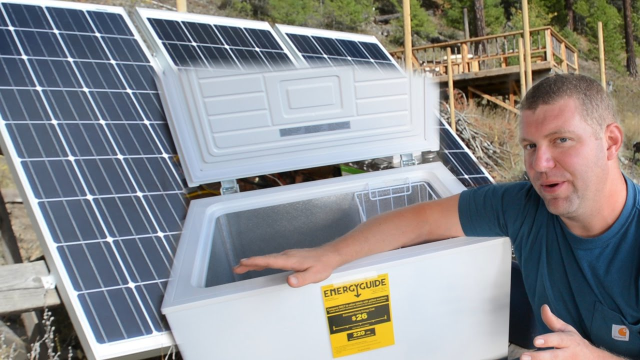 DUDE    We Got a CHEST FREEZER! (Appliances & Off Grid Living)