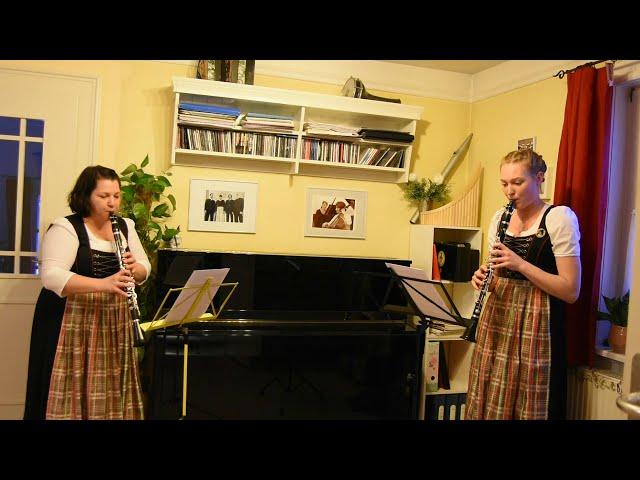 4 Polonaise Klarinetten Duett Stadtkapelle Schongau
