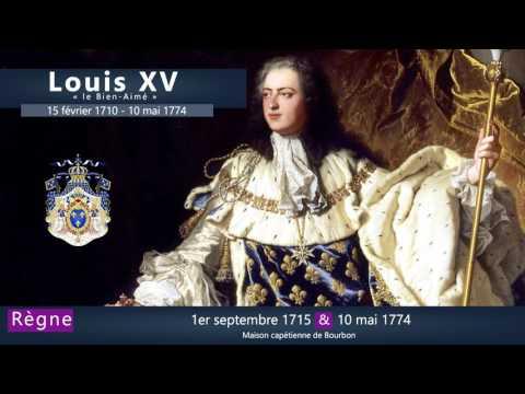 Louis XV : les rois de France en 1 minute
