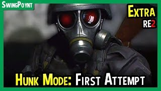 Resident Evil 2 Remake - EXTRA MODE: Hunk The 4th Survivor FIRST ATTEMPT