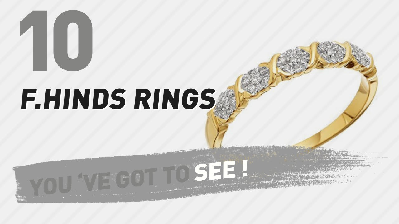 591fc4fbf F.Hinds Rings Top 10 Collection // UK New & Popular 2017 - YouTube