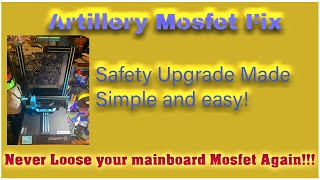 Artillery Mosfet Safety Fix