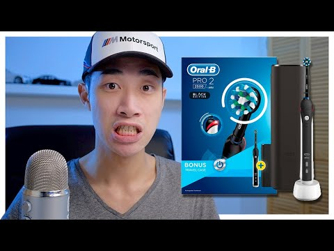 Smelly Breath?! Oral B Pro 2 2500 CrossAction Electric Toothbrush REVIEW