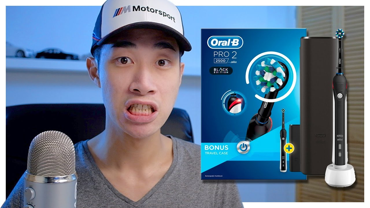 Smelly Breath Oral B Pro 2 2500 Crossaction Electric Toothbrush Unboxing Youtube