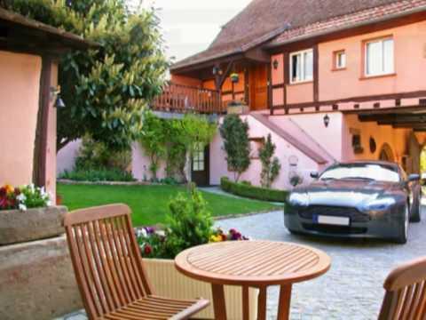 Clos Des Raisins Chambres Et Table D 39 H Tes En Alsace Youtube
