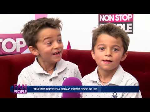 GEMELOS CORTES LA VOZ KIDS - ENTREVISTA