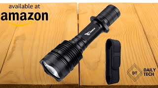 WISSBLUE H1 Military Grade Tactical Flashlight Review Amazon B…