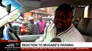 Zimbabweans in SA express their feelings over Mugabe's passing