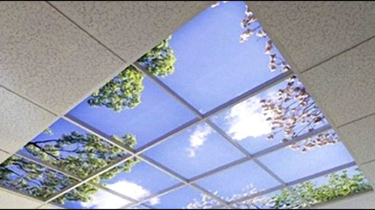 32. Светопрозрачный потолок: гипсокартонная основа - YouTube