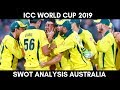 ICC World Cup 2019 SWOT Analysis - Team Australia | Can they Retain #CWC 2015 Title!!