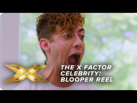 The HILARIOUS Blooper reel | X Factor Celebrity