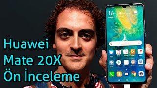Huawei Mate 20 X ön inceleme - Tabela Gibi Telefon