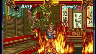 Double Dragon (Neo-Geo) - Billy Vs Jimmy- Vizzed.com - User video