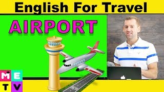Airport Vocabulary |English for Travel 🇨🇦🇬🇧🇺🇲