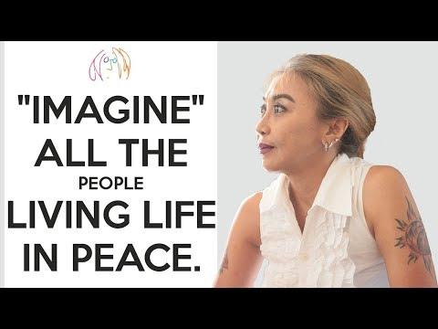 Trie Utami - Imagine (Cover) || Reuni BASF 21-8-2018
