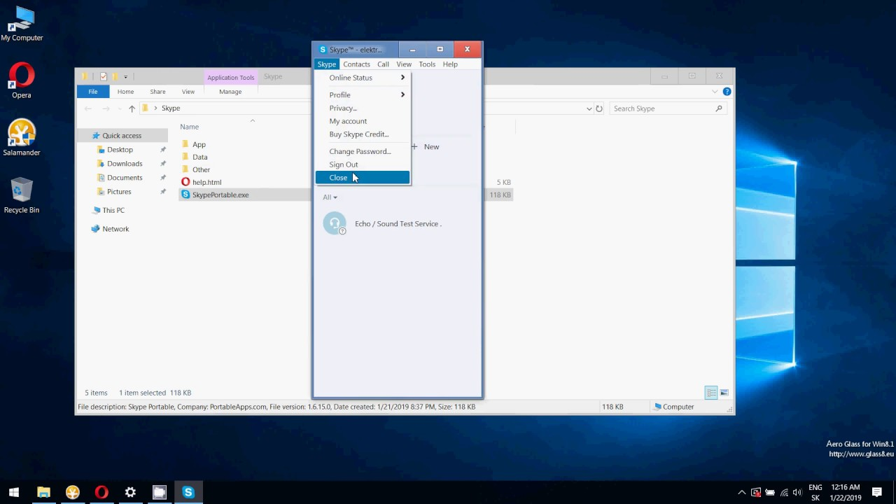 Working Skype Classic 7 4 Portable Patched 2019