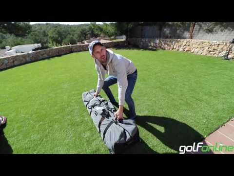 Mark Crossfield & Coach Lockey's Golf Travel Bags, A must for traveling golfers