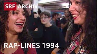 Kontroverse Rap-Lines - Ice Cube und Public Enemy im Hallenstadion Zürich (1994) | SRF Archiv