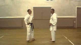 Heian Shodan bunkai application
