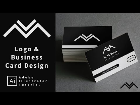 Logo And Business Card Design - Start to Finish - Tutorial thumbnail