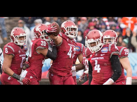 Highlights: Washington State holds on to beat Miami in the Sun Bowl