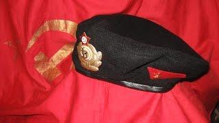 БЕРЕТ Морской пехоты ВМФ СССР МОРПЕХ чёрные береты(, 2014-11-30T15:04:58.000Z)