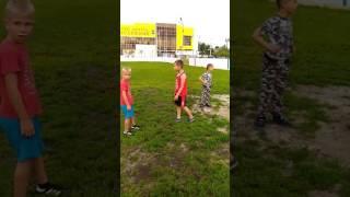 Детские разборки в городе Куровское.