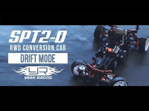 Yeah Racing SPT2-D RWD Drift Touring Conversion Car #YR-80001OR (FREE SHIP)