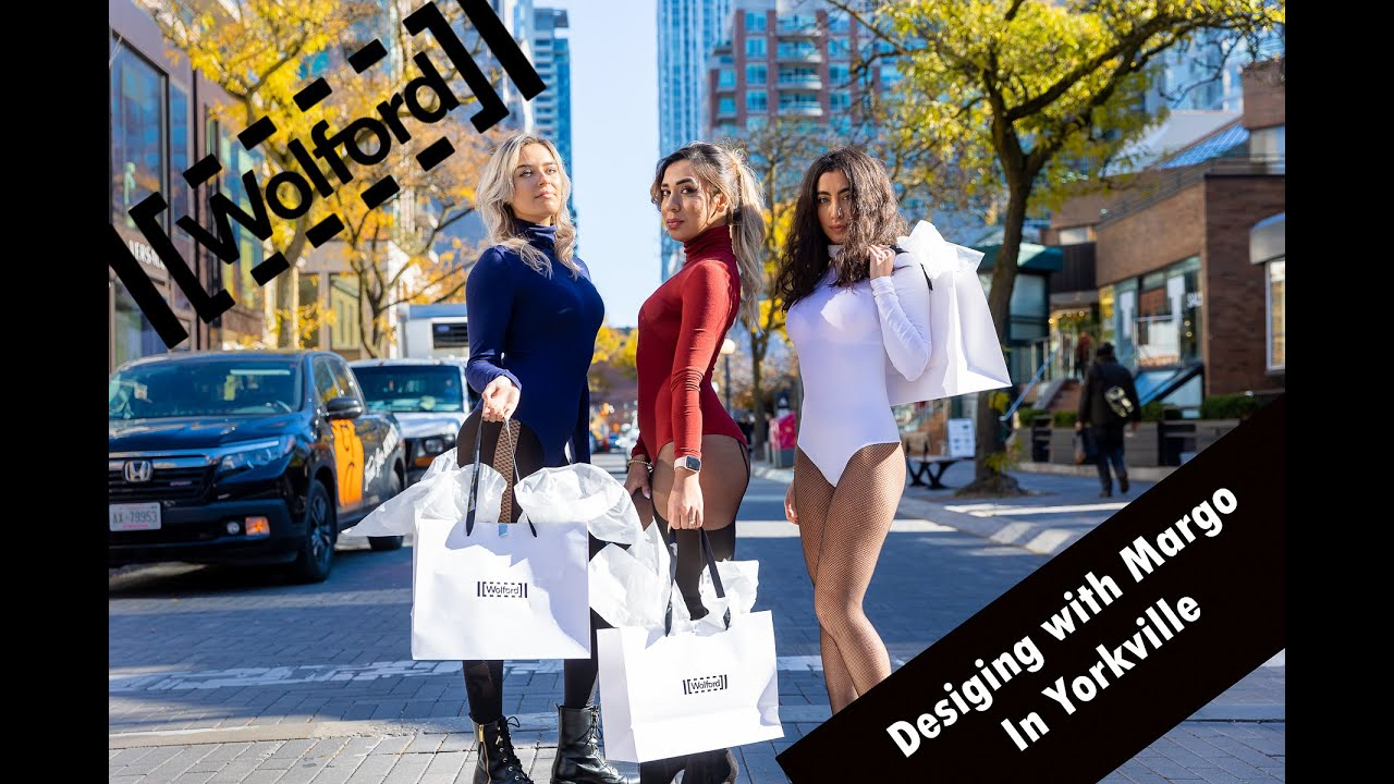 Shopping at Wolford Yorkville Village with Designing with Margo
