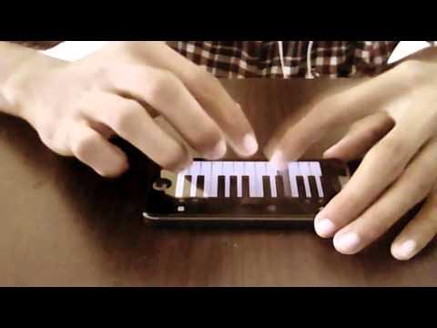 iPhone piano cover (virtuoso). ungu - bila tiba