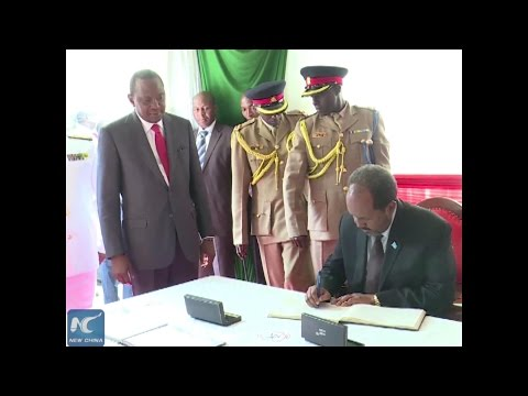 Nigeria, Somalia pledge unity with Kenya in anti-terror war