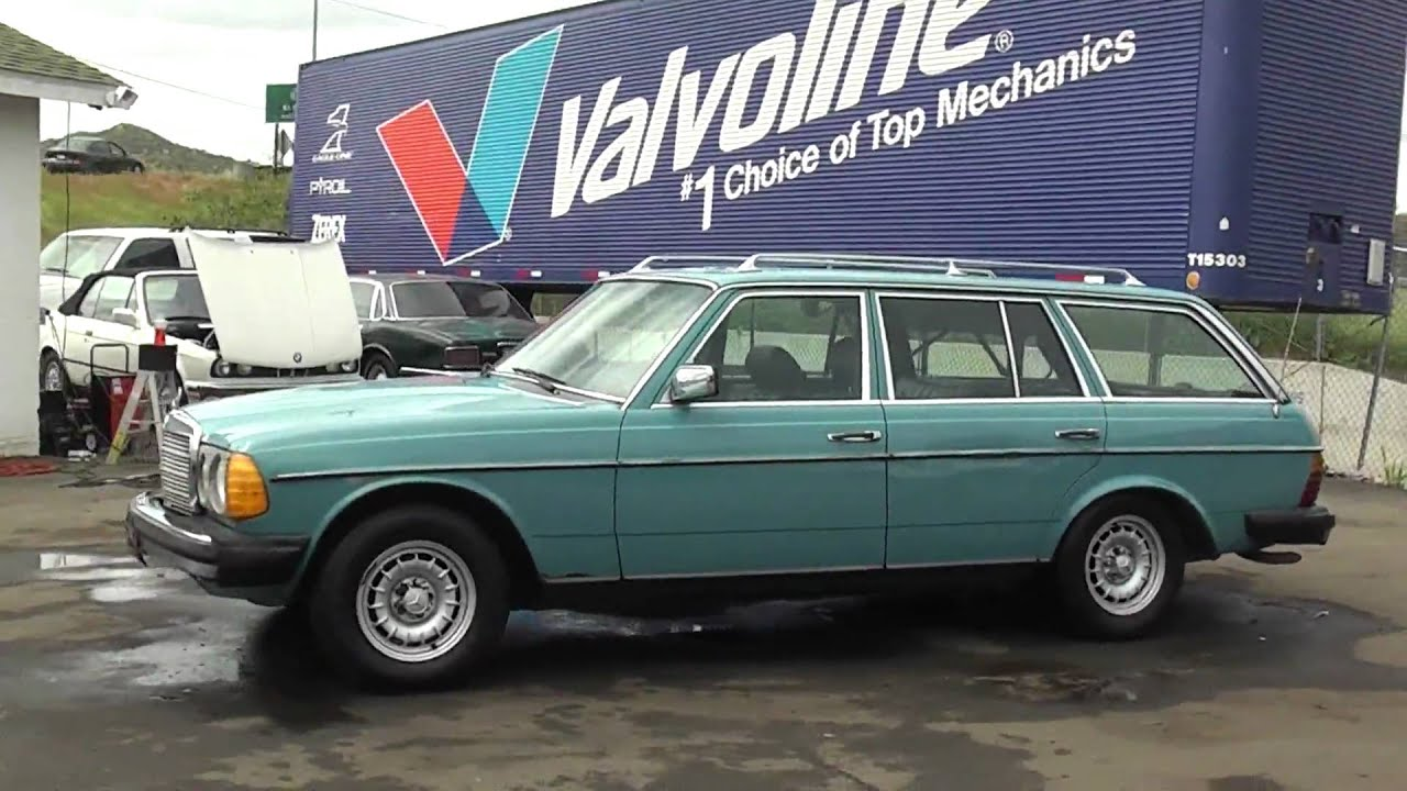 1980 mercedes benz 300 td sd turbo diesel 300td wagon bio for Mercedes benz diesel wagon