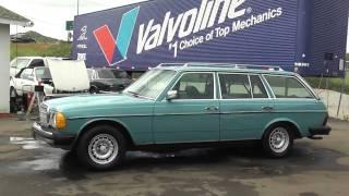 1980 Mercedes Benz 300 TD SD Turbo Diesel 300TD Wagon Bio W123 CLEAN