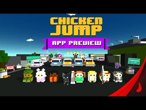 chicken jump - crazy traffic hack
