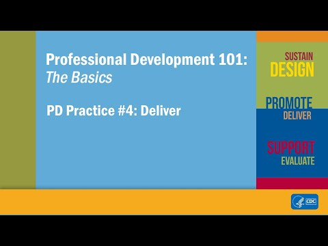 PD Practice #4: Deliver
