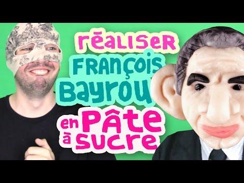 RÉALISEZ FRANÇOIS BAYROU EN PÂTE À SUCRE - Copain du web #2