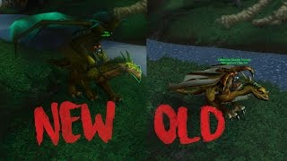 World of Warcraft WoTLK Graphic Updates! New vs Old (Updated Video)