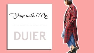 Shopping in Seoul - DUIER 对儿 Lookbook | mialiamani