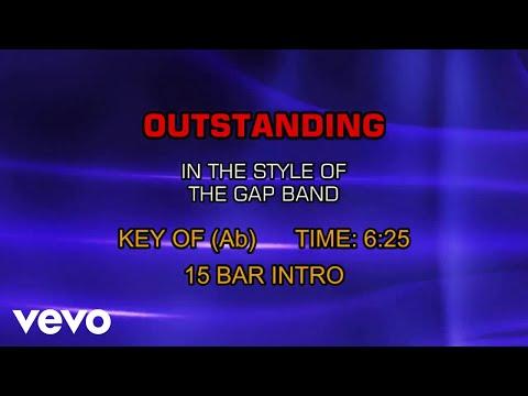The Gap Band - Outstanding (Karaoke)