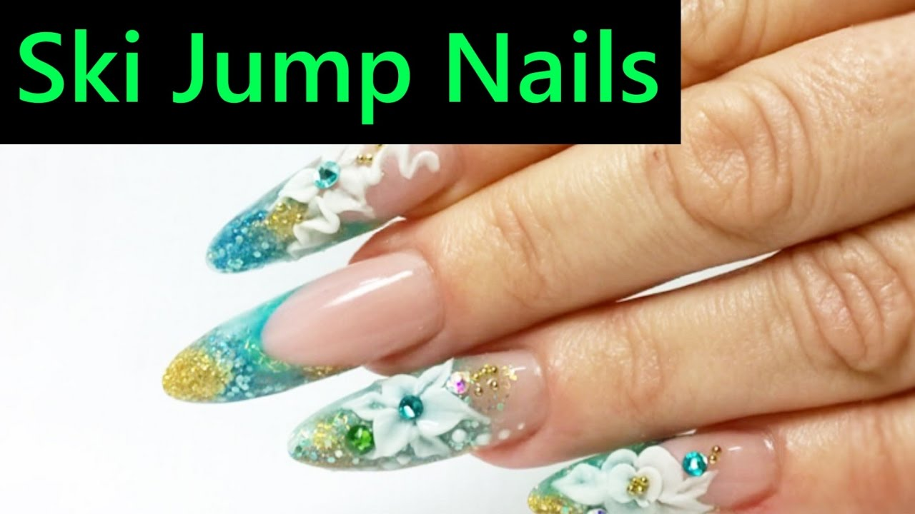 Sculpting Made Easy On Ski Jump Nails Youtube