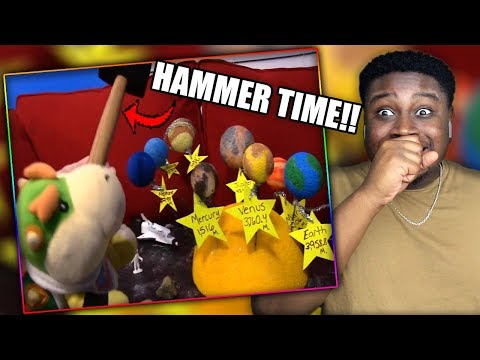JUNIOR DESTROYS CODY'S PROJECT! | SML Movie: The School Project Reaction!