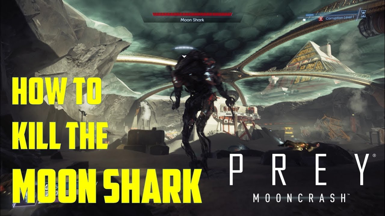 How To Kill The Moon Shark Prey Mooncrash Youtube