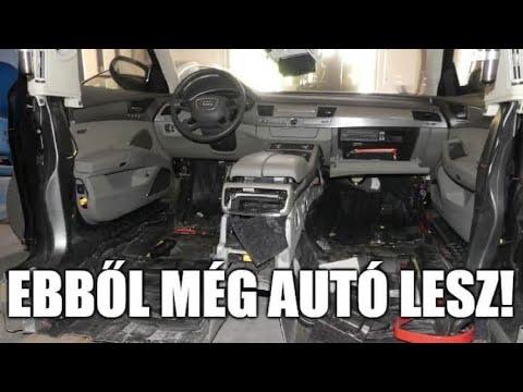 Így lesz újra eladó egy félbevágott, lopott Audi A8 thumbnail