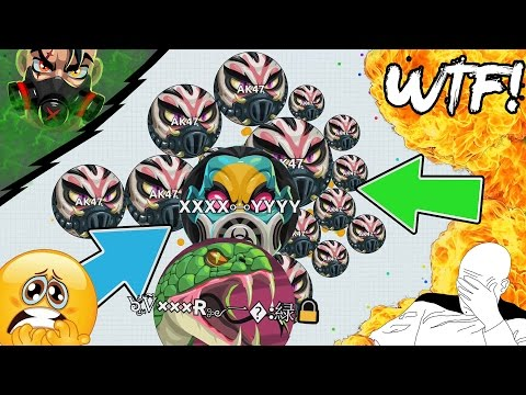 Agar.io SECRET SKIN HACK // ULTIMATE 100x1 VIRUS LINESPLIT!! BEST LEGENDARY PLAY EVER (Agario)